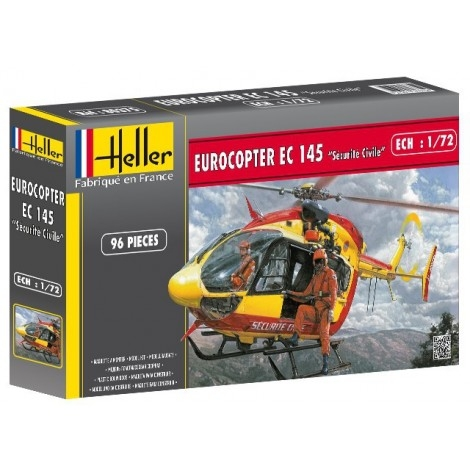 Heller 80375 Eurocopter Securite Civile 1:72