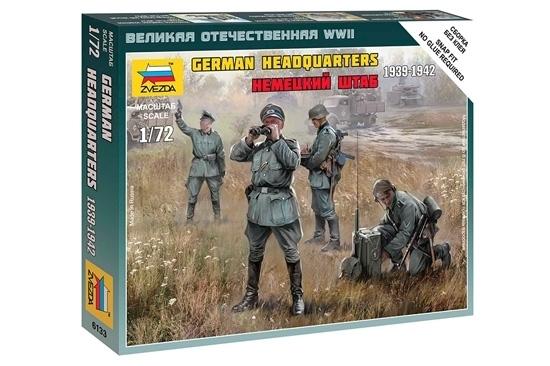 Zvezda 500786133 1:72 German HQ WWII