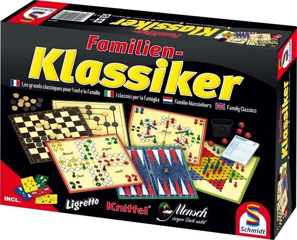 Schmidt Familienklassiker + Ligretto-Kartenspiel