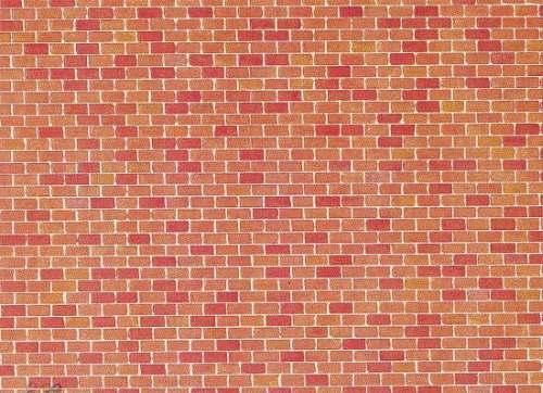 Faller 170608 Mauerplatte Backstein