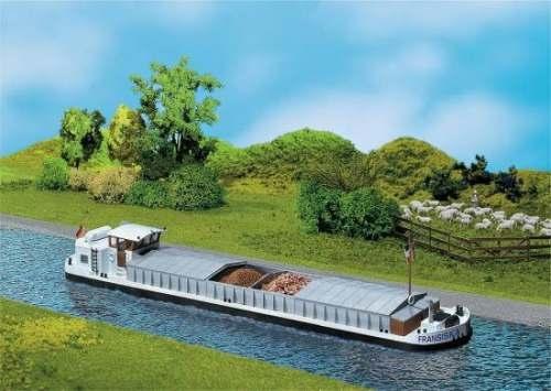 Faller 131006 Flußfrachtschiff mit Kajüte