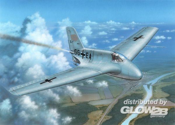 Special Hobby 100-SH72334 Messerschmitt Me 163A in 1:72
