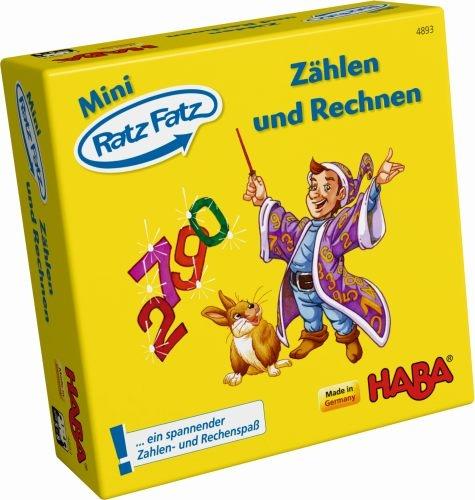 Haba 4893 Mini Ratz Fatz Zählen und Rechnen