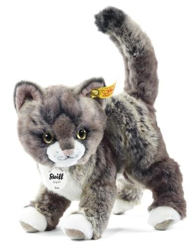 Steiff 099335 Kitty Katze 25 grau/beige ste