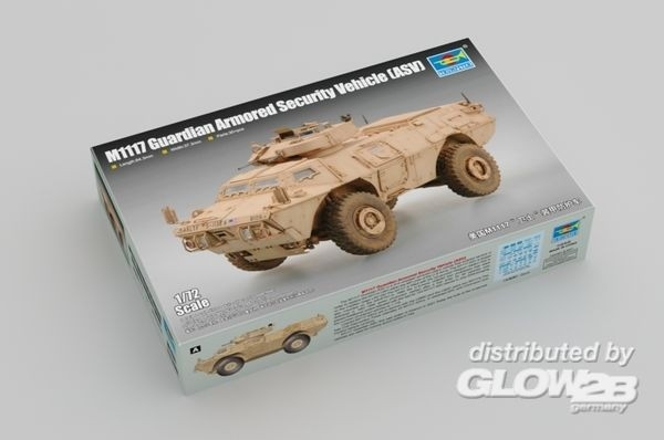 Trumpeter 07131 Guardian Armored Security Vehicle (ASV) M1117 1:72