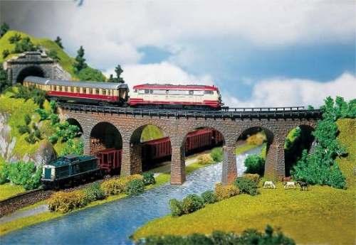 Faller 222586 2 Viaduktbrücken (gebogen)