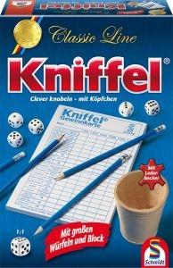 Schmidt 49203 Kniffel, mit großem Spielblock