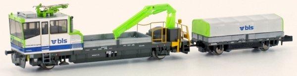 Hobbytrain H23563 Robel TM 235 BLS mit Stromabn. motorisiert, Ep.VI