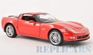 Welly 22504 Chevrolet Corvette Z06, red