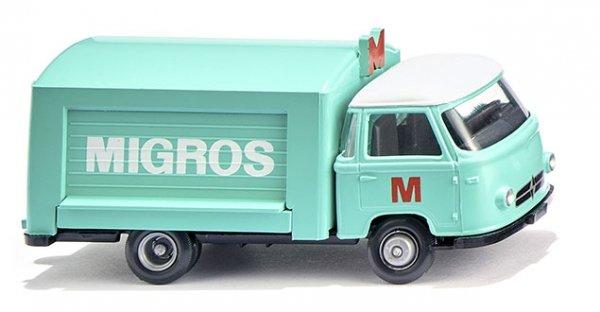 """Wiking 027901 Verkaufswagen (Borgward) """"Migros"""""""