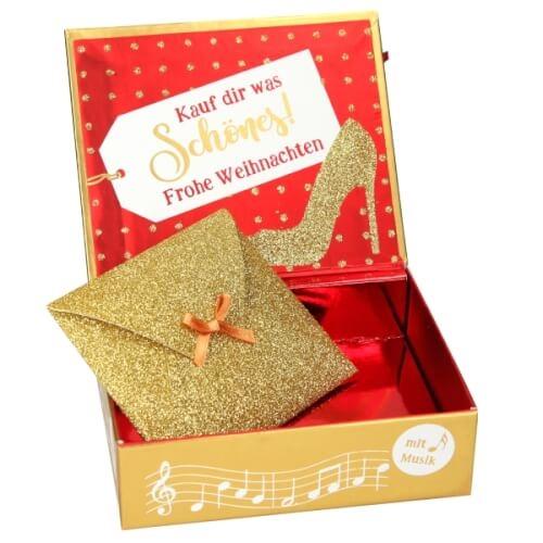 Depesche 10250 Weihnachts-Soundboxen Glamour
