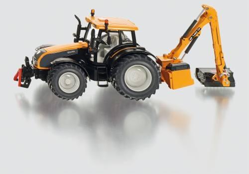 Siku 3659 Traktor mit Kuhn Böschungsmähwerk
