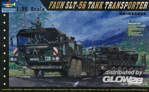 Trumpeter 0203 1/35 FAUN SLT-56 Tank-Transpo