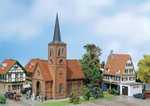 Faller 130239 Kleinstadt-Kirche