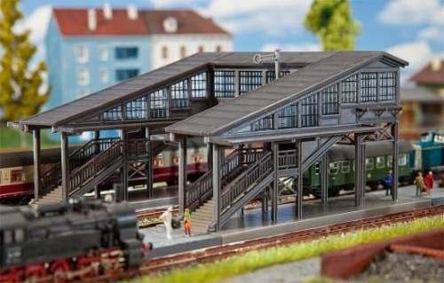 Faller 222153 Bahnsteigbrücke Radolfzell
