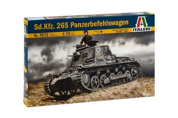 Italeri 7072 1/72 Sd.Kfz.265 PANZERBEFEHLSWAGEN