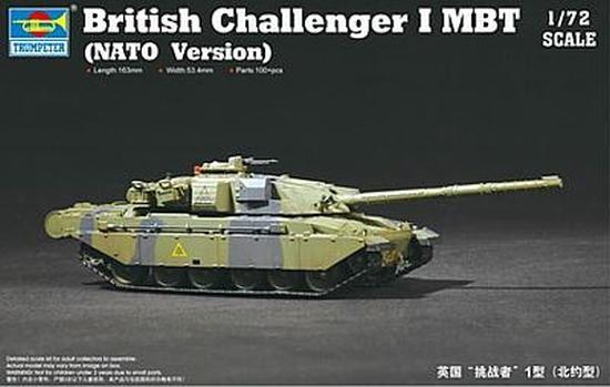 Trumpeter 757106 1/72 British Challenger 1 MBT