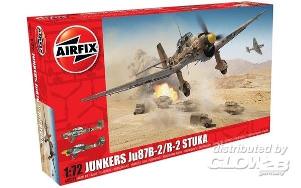Airfix A03089 Junkers JU87B-2/R-2 Stuka 1:72