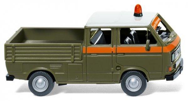 Wiking 029350 VW T3 Doppelkabine Transporter Schlotmann