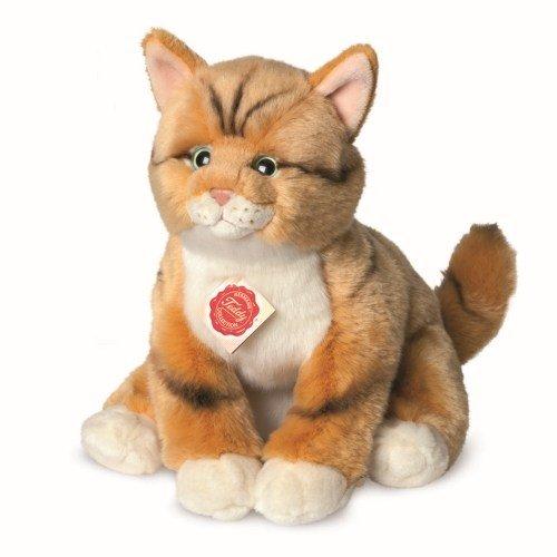 Hermann Teddy 90699 Katze rot getigert 30 cm