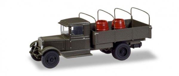 """Herpa 746342 ZIS 5 mit Spriegel und Fässerladung """"Sowjetunion 1938-1945"""""""
