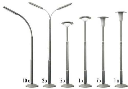 Faller 180538 Straßenlampen-Set