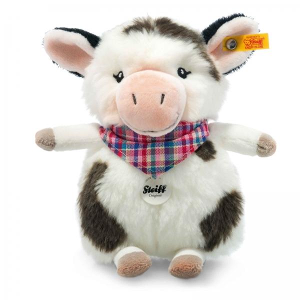 Steiff 103049 Kuh Mini Cowaloo 18 weiß/schwarz gefleckt