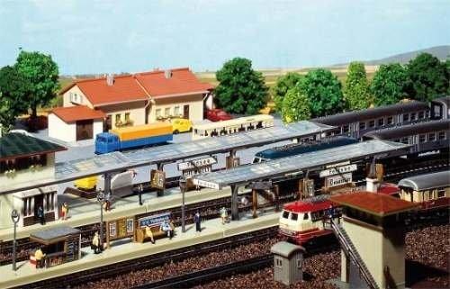 Faller 222119 3 Bahnsteige