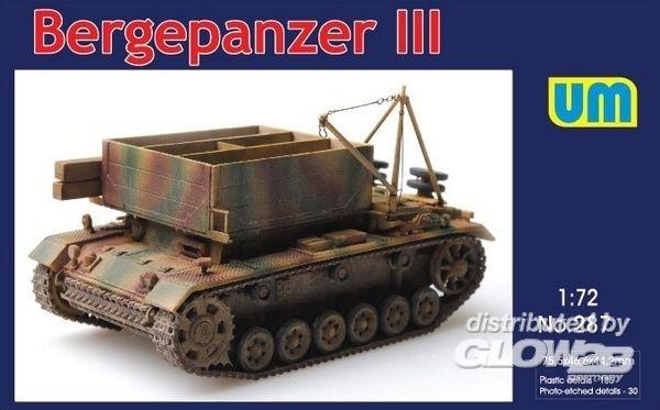 Unimodels UM287 Bergepanzer III 1:72