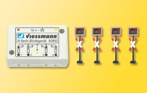 Viessmann 5800 N Andreaskreuze,4 St.+Blinkel
