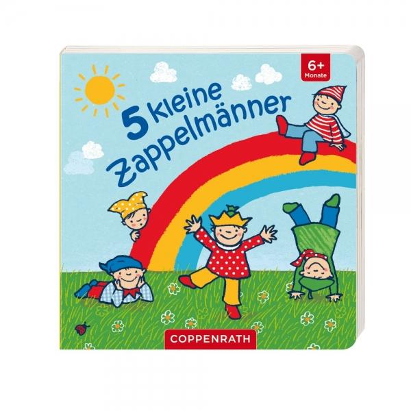 Coppenrath Verlag 70980 5 kleine Zappelmänner (Buch und Handschuh)