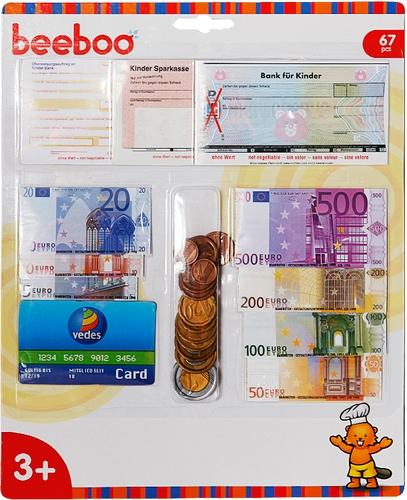 Vedes 45006204 Beeboo Kitchen Spielgeld Euro