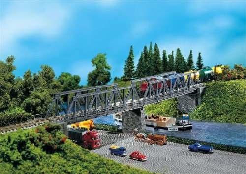 Faller 222578 2 Kastenbrücken mit Brückenkö