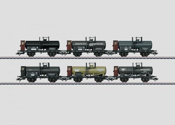 Märklin 46084 Kesselwagen-Set KPEV