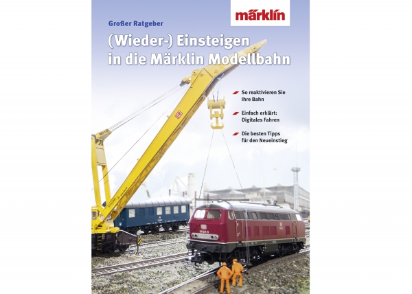 Märklin 3070 Buch Wiedereinsteigen/Umsteig