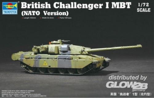Trumpeter 07106 1/72 British Challenger 1 MBT