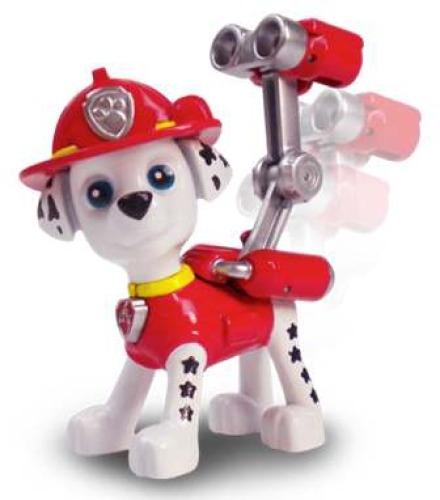 Spin Master 6022626 Paw Patrol Action Pack Pups Deluxe Figuren, sort