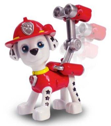Spin Master 6022626 Paw Patrol Action Pack Pups Deluxe Figuren, sort