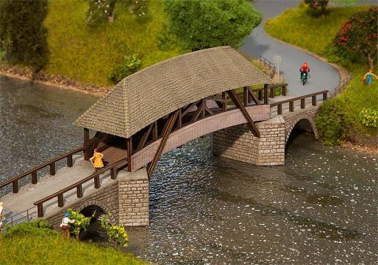 Faller 120494 Alte Holzbrücke