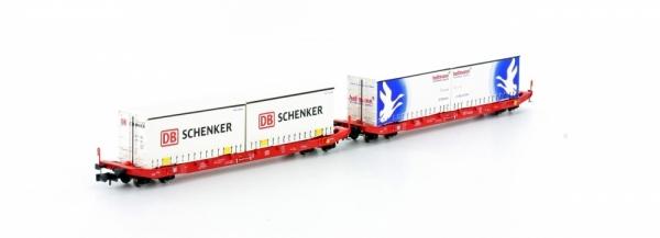Hobbytrain H23766 2er Set Sgkkms 689 Jumbo Schenker/Hellmann, Ep.VI