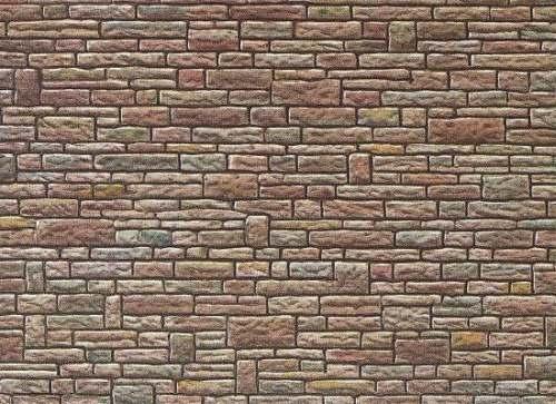 Faller 170604 Mauerplatte Sandstein