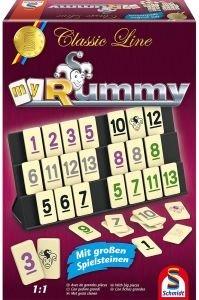 Schmidt 49282 MyRummy, mit großen Spielfiguren